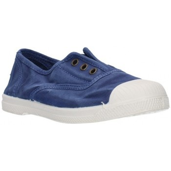 Chaussures Fille Baskets basses Natural World 470E - Azul bleu