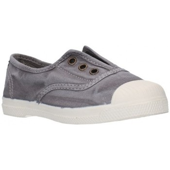 Chaussures Fille Baskets basses Natural World 470E gris