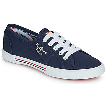 Chaussures Femme Baskets basses Pepe jeans ABERLADY Marine