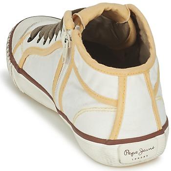 pepe jeans industry beige marron jaune livraison gratuite avec chaussures. Black Bedroom Furniture Sets. Home Design Ideas