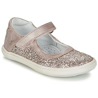 Chaussures Fille Ballerines / babies GBB PLACIDA Rose / Doré