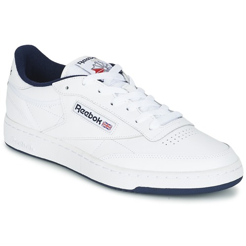 Reebok Baskets basses Club C85 Blanc/Bleu lWFDCwf5