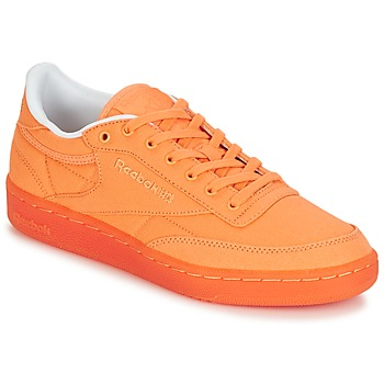 78cf28dc5c52d Chaussures Femme Baskets basses Reebok Classic CLUB C 85 CANVAS Orange
