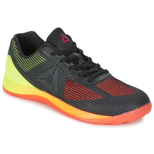 Chaussures Homme Fitness / Training Reebok Sport R CROSSFIT NANO 7.0 Noir / Vert