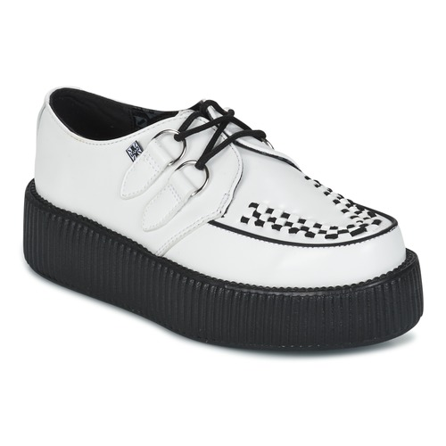 Chaussures Derbies TUK VIVA HIGH MONDO CREEPER Blanc