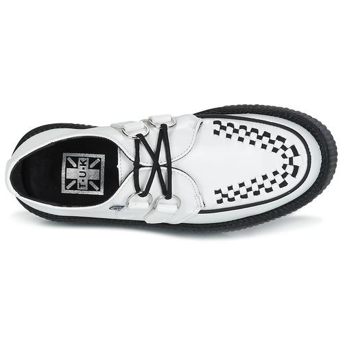 Tuk Viva High Mondo Creeper Blanc - Livraison Gratuite- Chaussures Derbies 10900 ttZtY