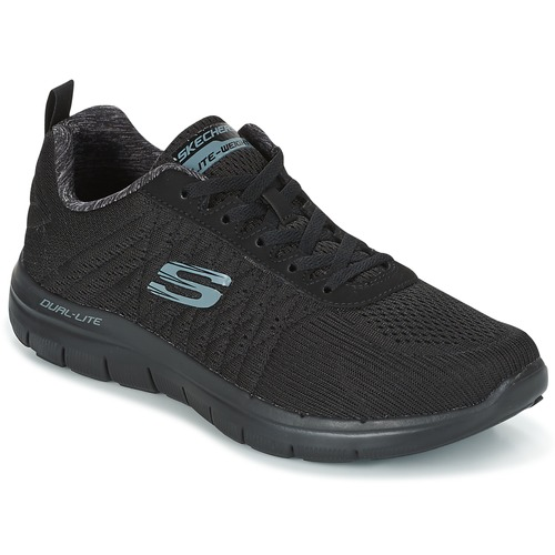 Chaussures Homme Baskets basses Skechers Flex Advantage 2.0 The Happs Black