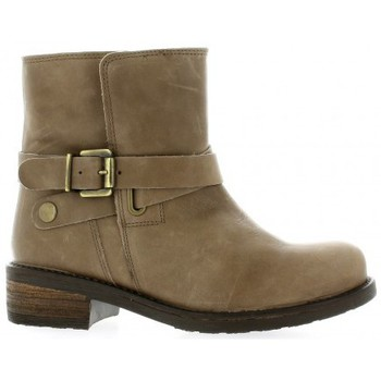 Bottines / Boots We Do Boots cuir Taupe 350x350