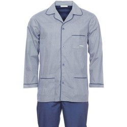 Vêtements Homme Pyjamas / Chemises de nuit Mariner - pyjama long BLEU