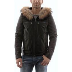 Vêtements Homme Vestes en cuir / synthétiques Giorgio Heaven Agora Noir Noir