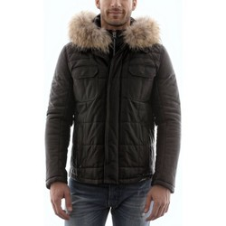 Vestes en cuir / synthétiques Giorgio Gabriel Agora Noir
