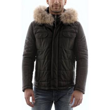 Vêtements Homme Vestes en cuir / synthétiques Giorgio Gabriel Agora Noir Noir