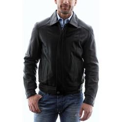 Vêtements Homme Vestes en cuir / synthétiques Intuitions Paris AH 09-20 Noir Noir