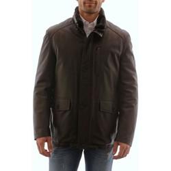 Vêtements Homme Vestes en cuir / synthétiques Intuition AH 20-1151 Marron Marron