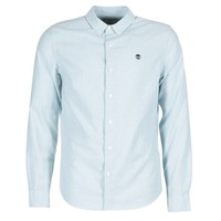 Vêtements Homme Chemises manches longues Timberland LS RATTLE RIVER OXFORD SHIRT SLIM Bleu
