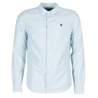 Vêtements Homme Chemises manches longues Timberland LS RATTLE RIVER OXFORD SHIRT SLIM Bleu