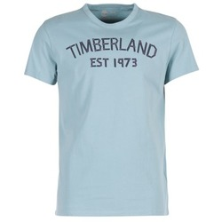 Vêtements Homme T-shirts manches courtes Timberland SS KENNEBEC RIVER TBL 1973 TEE Bleu clair