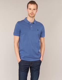 Vêtements Homme Polos manches courtes Timberland SS MILLERS RIVER PIQUE REG POLO Bleu