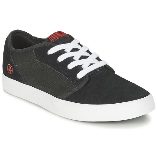 Chaussures Big 2 Youth Baskets Enfant Noir Basses Volcom Grimm 6f7gbYyIv