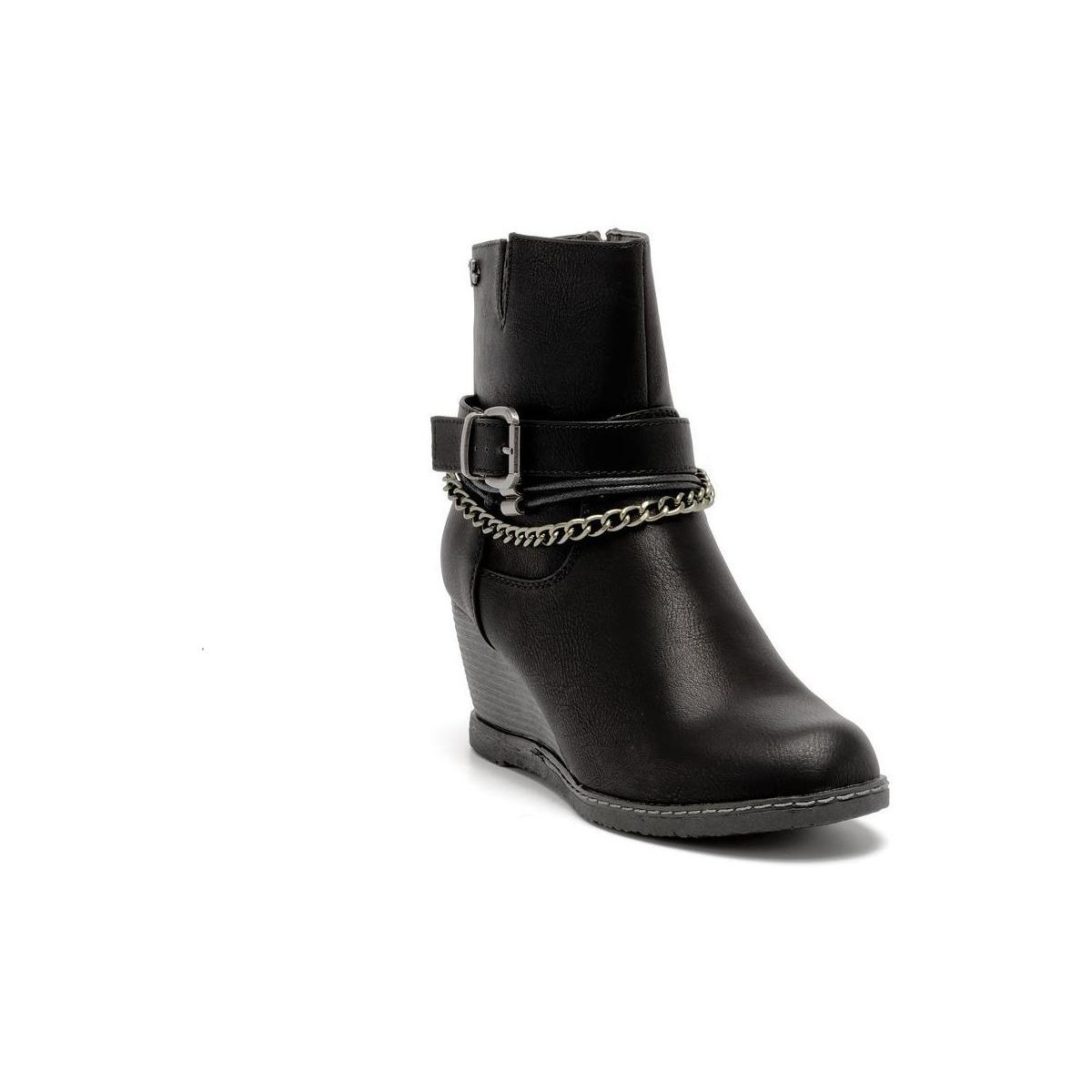 Refresh 61618 ankle boot Noir