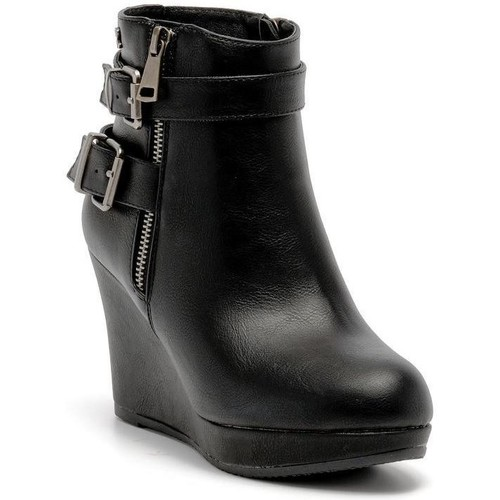 Bottines / Boots Refresh 61110 ankle boot Noir  350x350