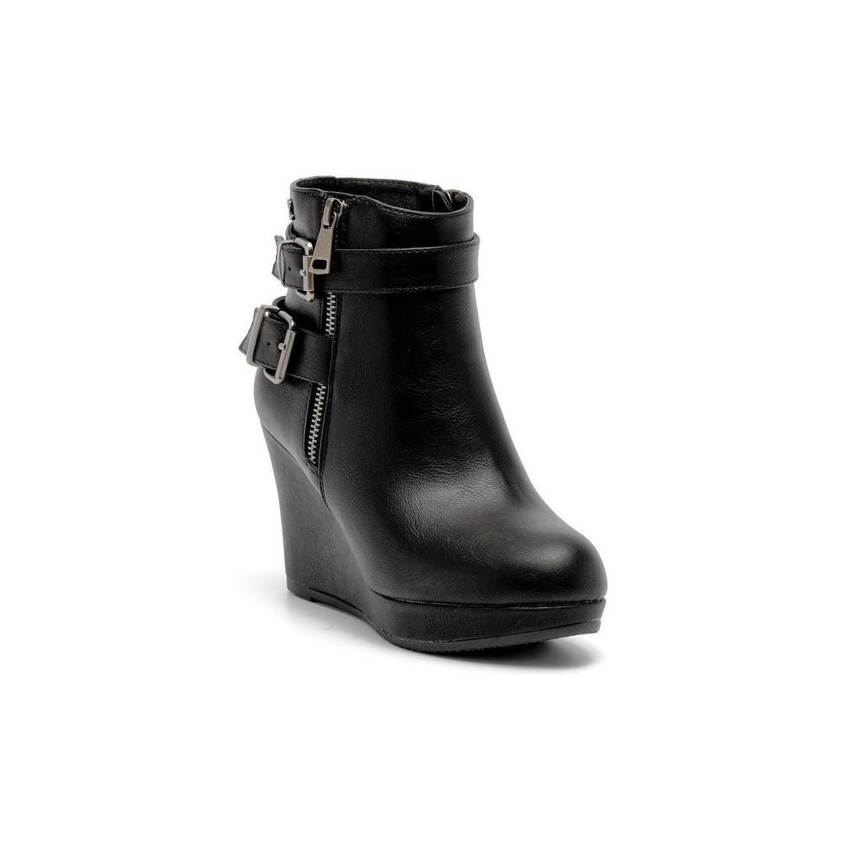 Refresh 61110 ankle boot Noir