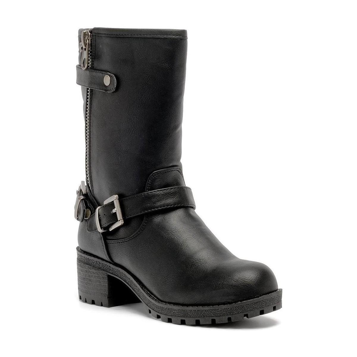 Refresh 61134 ankle boot Noir