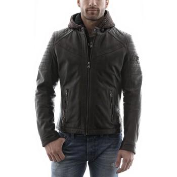 Vestes Redskins Morisson Marron (capuche) Marron 350x350