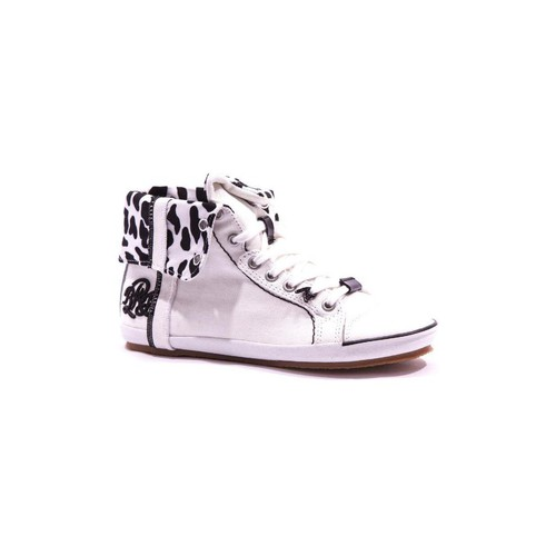 Chaussures Femme Baskets montantes Replay Brooke tex Basket blanc blanc