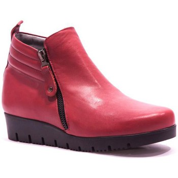 Chaussures Femme Bottines Folies Rabat Bottine Rouge rouge