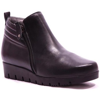 Chaussures Femme Bottines Folies Rabat Bottine Noir noir