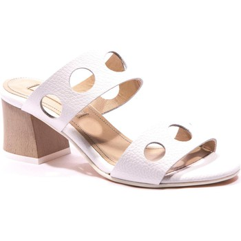 Chaussures Femme Mules Peperosa 702/1 Mule Blanc blanc