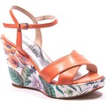Dreams & Colors Myma DC002 Nu Pieds Corail Orange