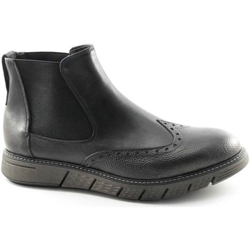 Chaussures Homme Boots Caf㨠Noir  Grigio