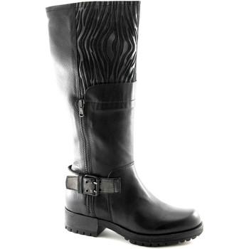 Chaussures Femme Bottes ville Caf㨠Noir  Nero