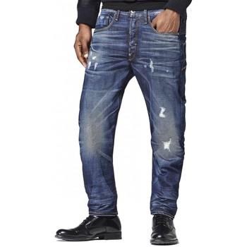 Vêtements Homme Jeans droit G-Star Raw Jean  Type C 3D Loose Tapered Taland Denim Bleu