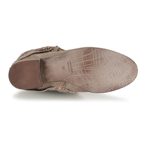 Mimmu Stropfa Taupe - Livraison Gratuite- Chaussures Boot Femme 143