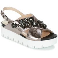 Chaussures Femme Sandales et Nu-pieds Luciano Barachini TANITI Gris