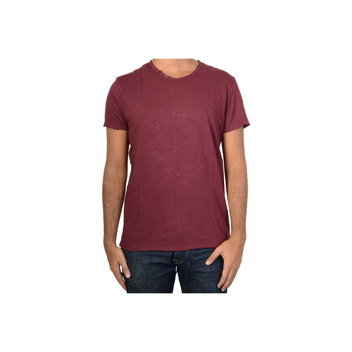 Trez Tee Shirt  Topo6 357 Bordeau Rouge