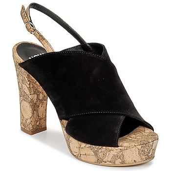 Chaussures Femme Mules Now PAPIRON Noir