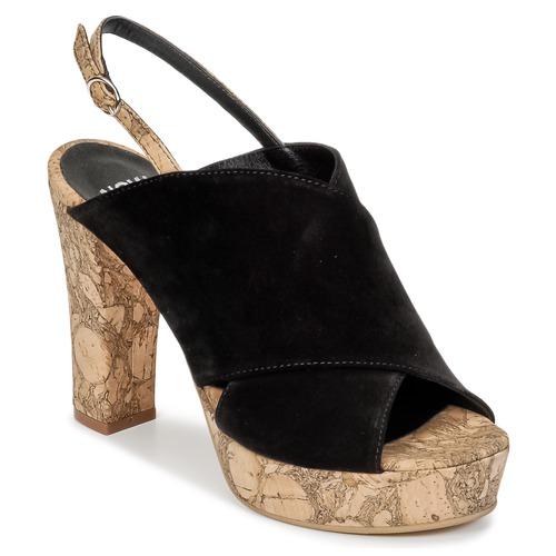 Chaussures Femme Sabots Now PAPIRON Noir