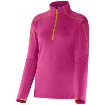 Sweats & Polaires Salomon Polaire  Discovery Hz Midlayer Pink Pink 350x350