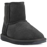 Chaussures Femme Bottes de neige EMU STINGER MINI CHARCOAL Grigio