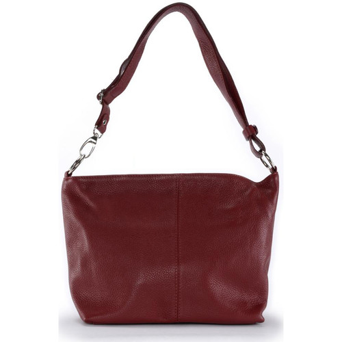 Sacs Femme Sacs porté épaule Oh My Bag Sac à Main cuir femme - Modèle KUTA rouge foncé ROUGE FONCE