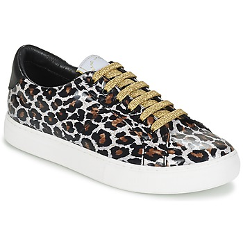 Chaussures Femme Baskets basses Marc Jacobs EMPIRE LACE UP Léopard