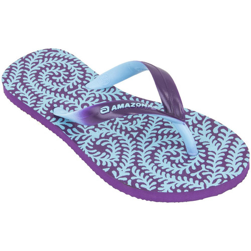 Tongs Amazonas Tongs fille  Enjoy Samambaia Violet et Turquoise  350x350