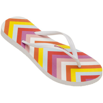Tongs Amazonas Tongs femme  Enjoy Flip Flop Pop Blanc