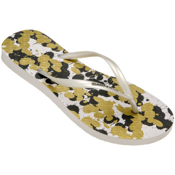 Tongs Amazonas Tongs femme  Enjoy Flip Flop Splash Blanc et Kaki
