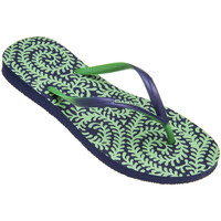 Tongs Amazonas Tongs femme  Enjoy Flip Flop Samambaia Marine et Vert