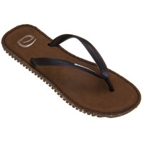 Chaussures Homme Tongs Amazonas Tongs homme  Eco Leather Marron